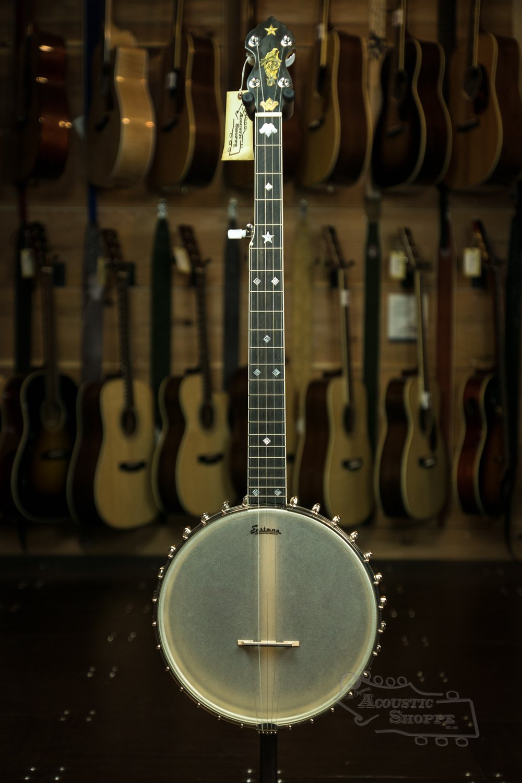 Used Floor Model - Eastman Open Back 5-String Banjo (EBJ-WL-1)