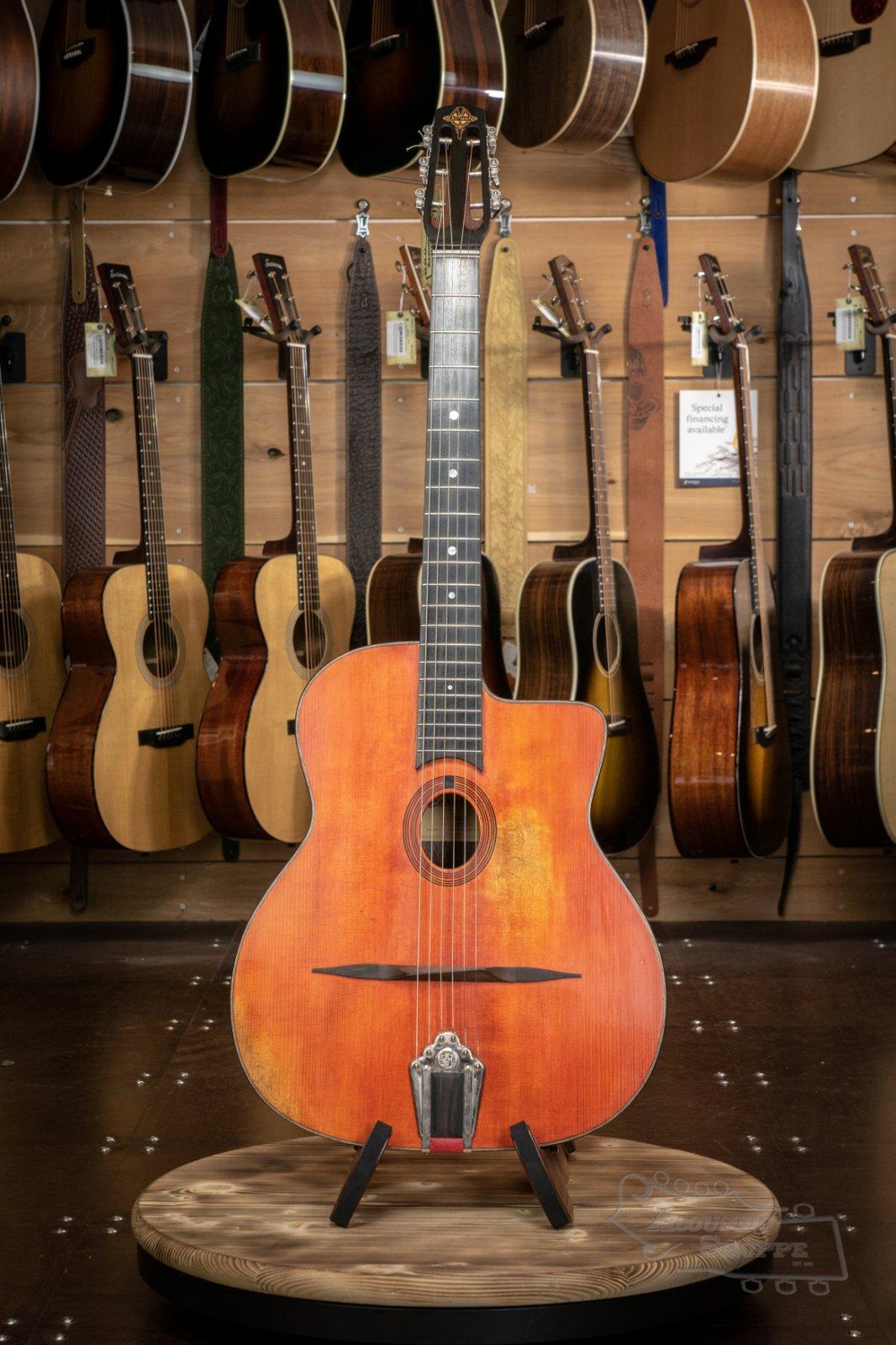 Eastman DM2/V Antique Varnish Gypsy Jazz Acoustic Guitar #0425