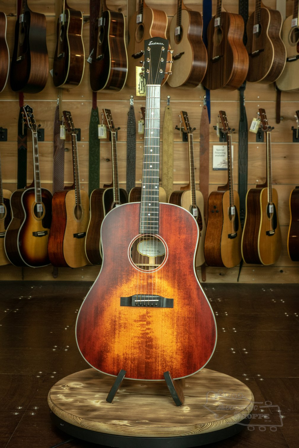 Eastman E1SS-LTD-CLA Slope Shoulder Adirondack Top Limited Edition Dreadnaught Acoustic #23/250