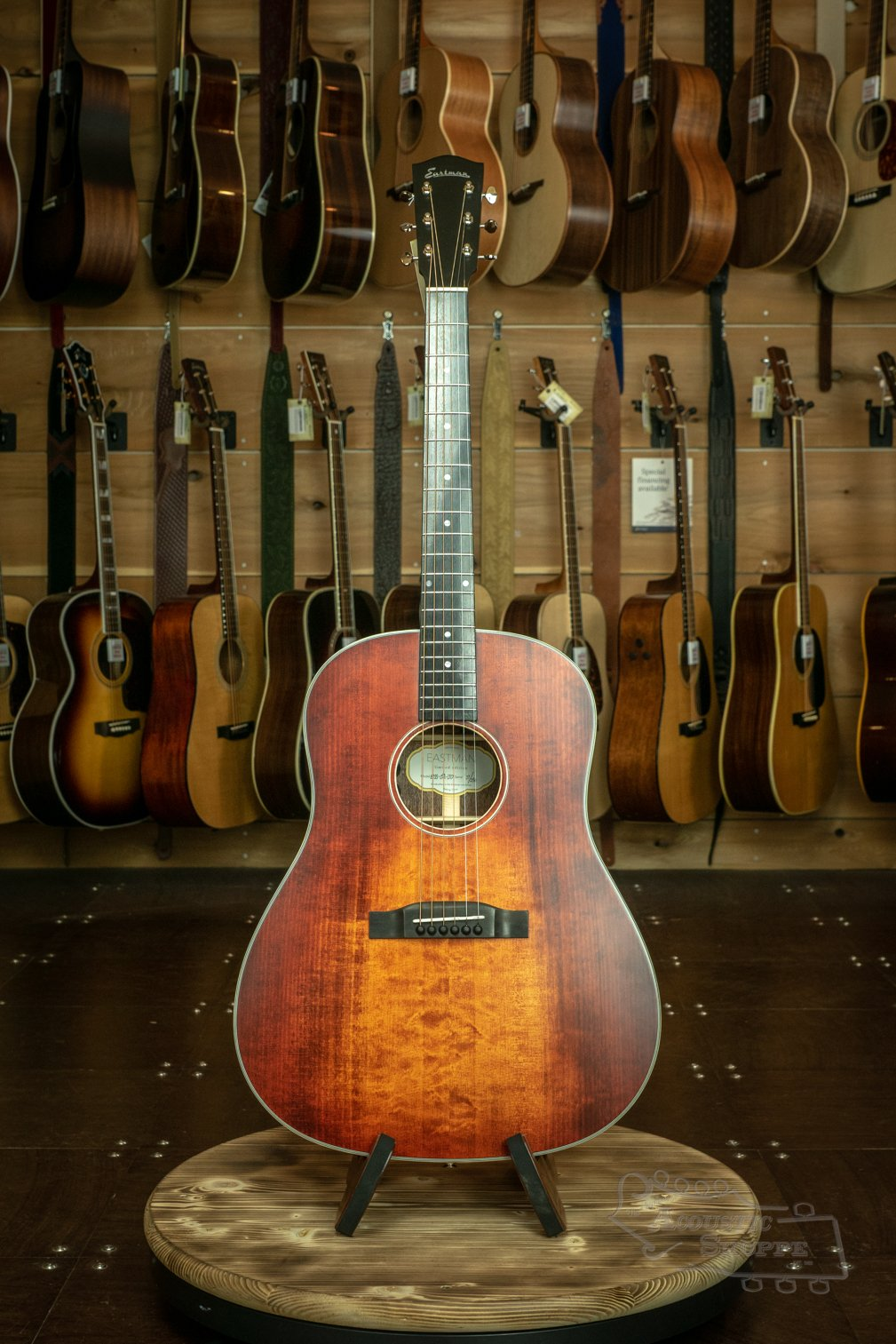 Eastman E1SS-LTD-CLA Slope Shoulder Adirondack Top Limited Edition Dreadnaught Acoustic #27/250