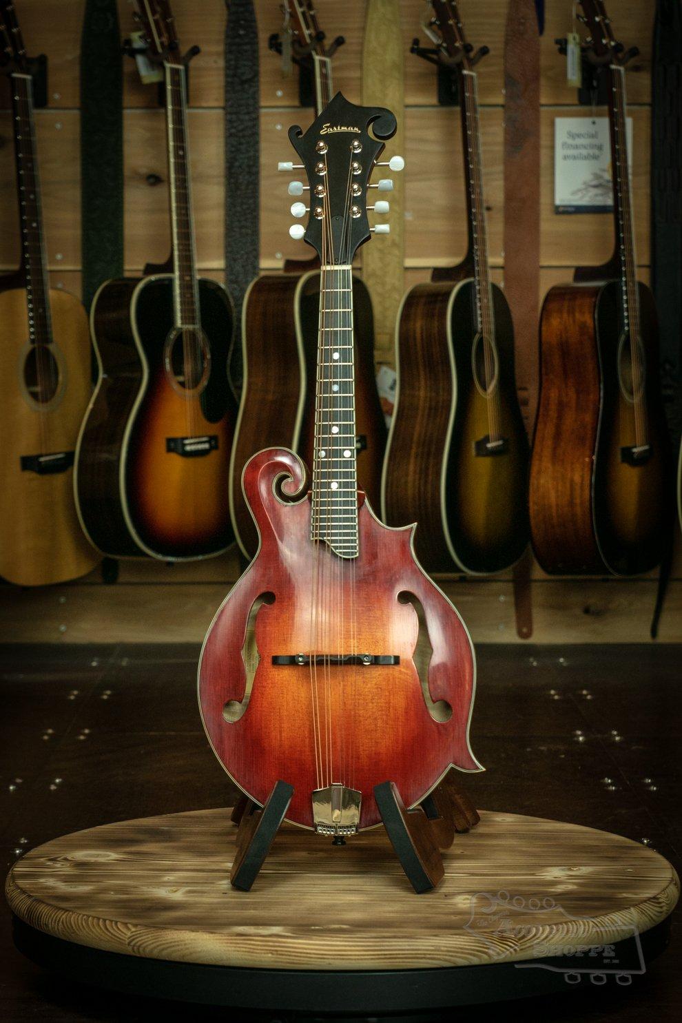 Eastman MD515/V Classic Varnish F-Style Mandolin #2324