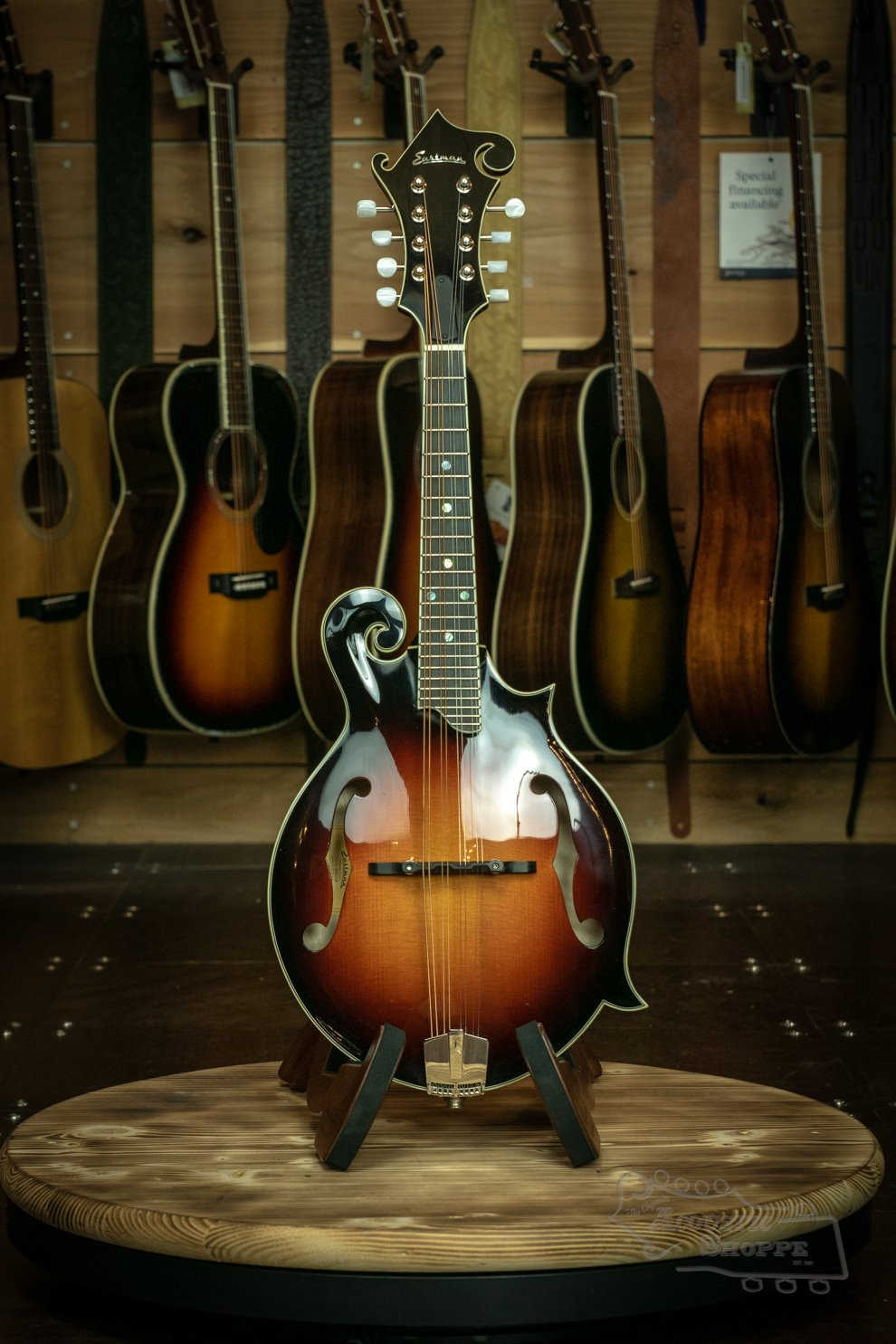 Eastman MD615-SB F-Style Mandolin #16752444 Sunburst