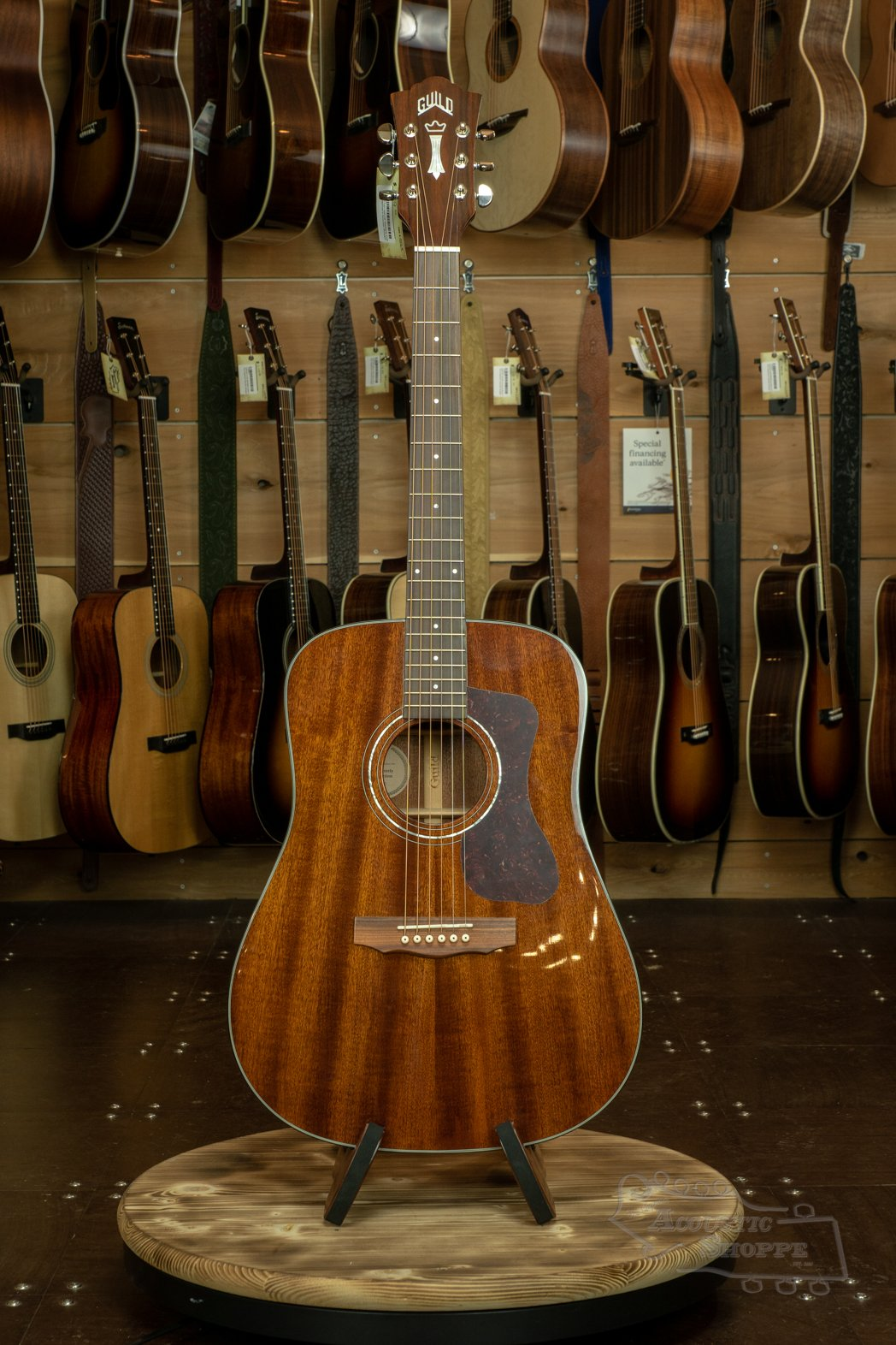 Guild D-120 Natural Westerly Collection #1864