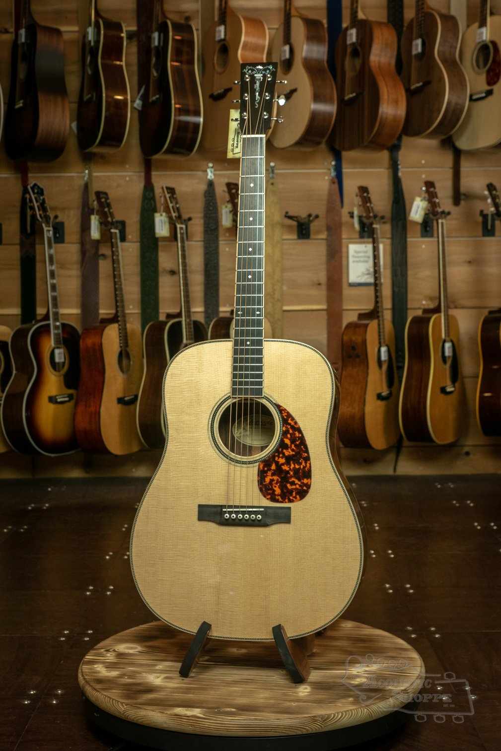Larrivee D-44 Indian Rosewood Legacy Series Dreadnaught Acoustic Guitar with Torch Headstock Inlay #3197