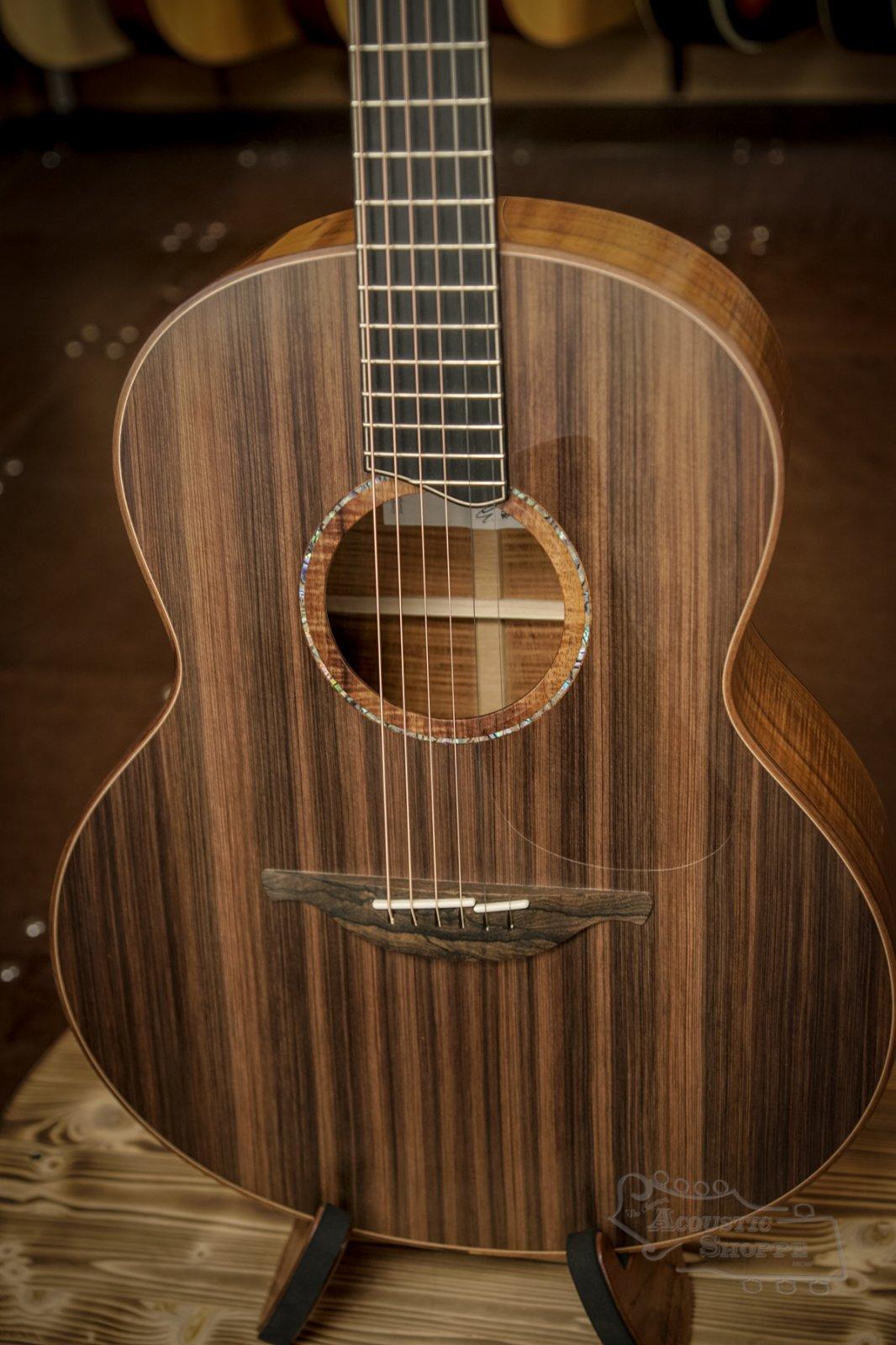 Lowden F-50 Acoustic w/ Sinker Redwood Top, Koa Back & Sides, Custom