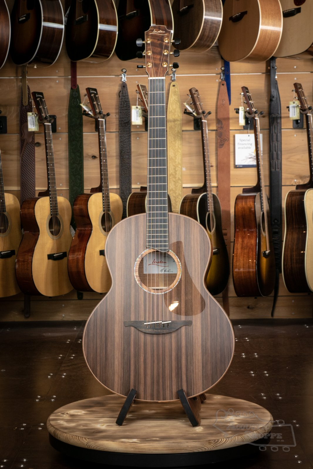 Lowden F-50 Acoustic w/ Sinker Redwood Top, Koa Back & Sides, Custom Inlays & Maple Neck #22702