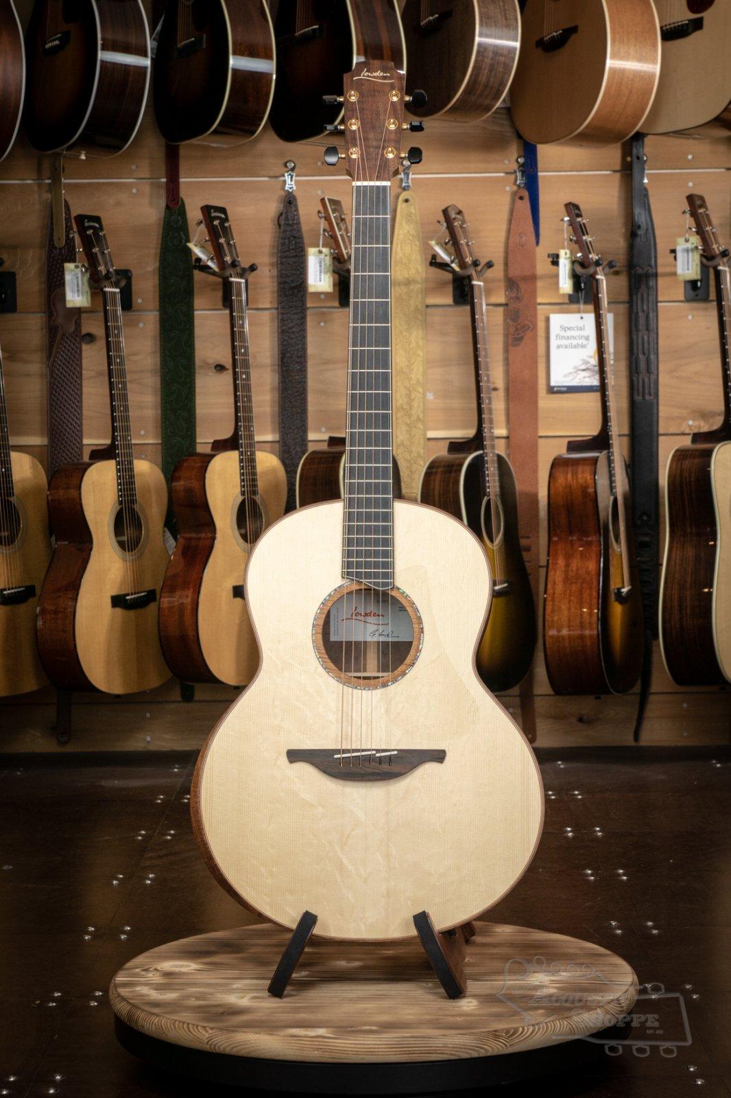 Lowden FM-50 Acoustic Guitar w/ Bearclaw Adirondack Top, Walnut Back/Sides & Bevel #22707