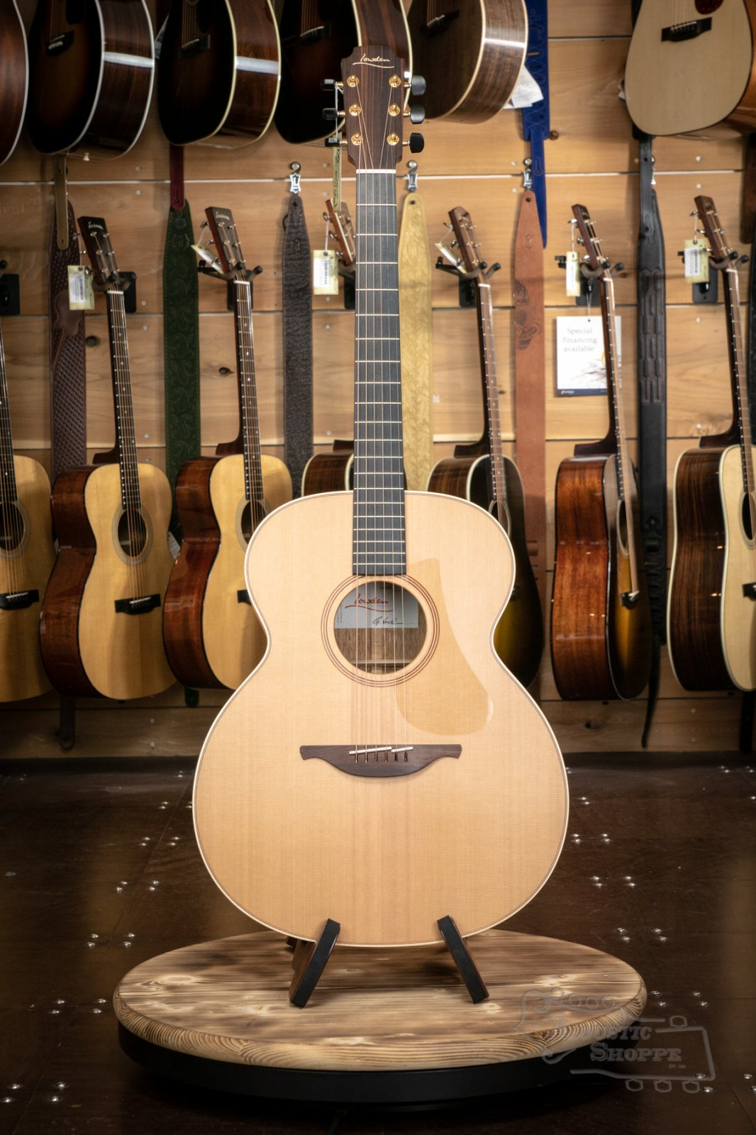 Lowden O-22 Cedar/Mahogany Acoustic Guitar #22355 Handmade in Ireland