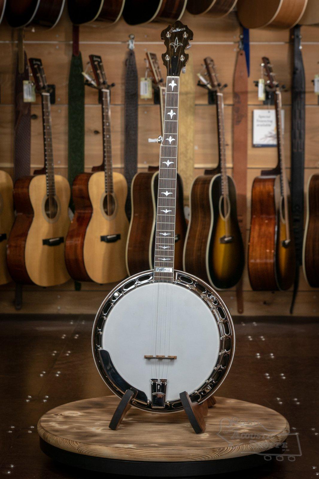 Sullivan Festival Mahogany Banjo #F0817-4