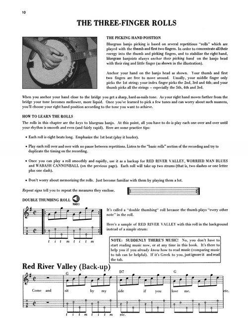 The Complete Bluegrass Banjo Method (HL00695736 ) - 073999957365