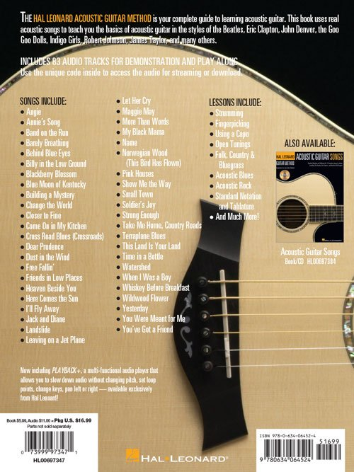 The Hal Leonard Acoustic Guitar Method Cultivate Your