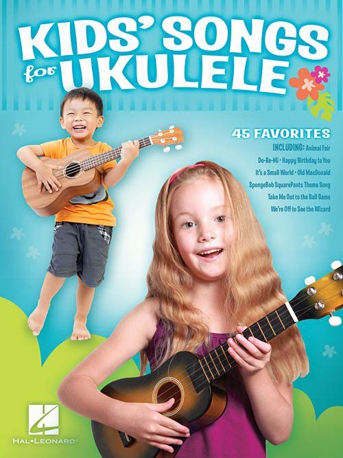 UKE KIDS' SONGS FOR UKULELE (HL125421)
