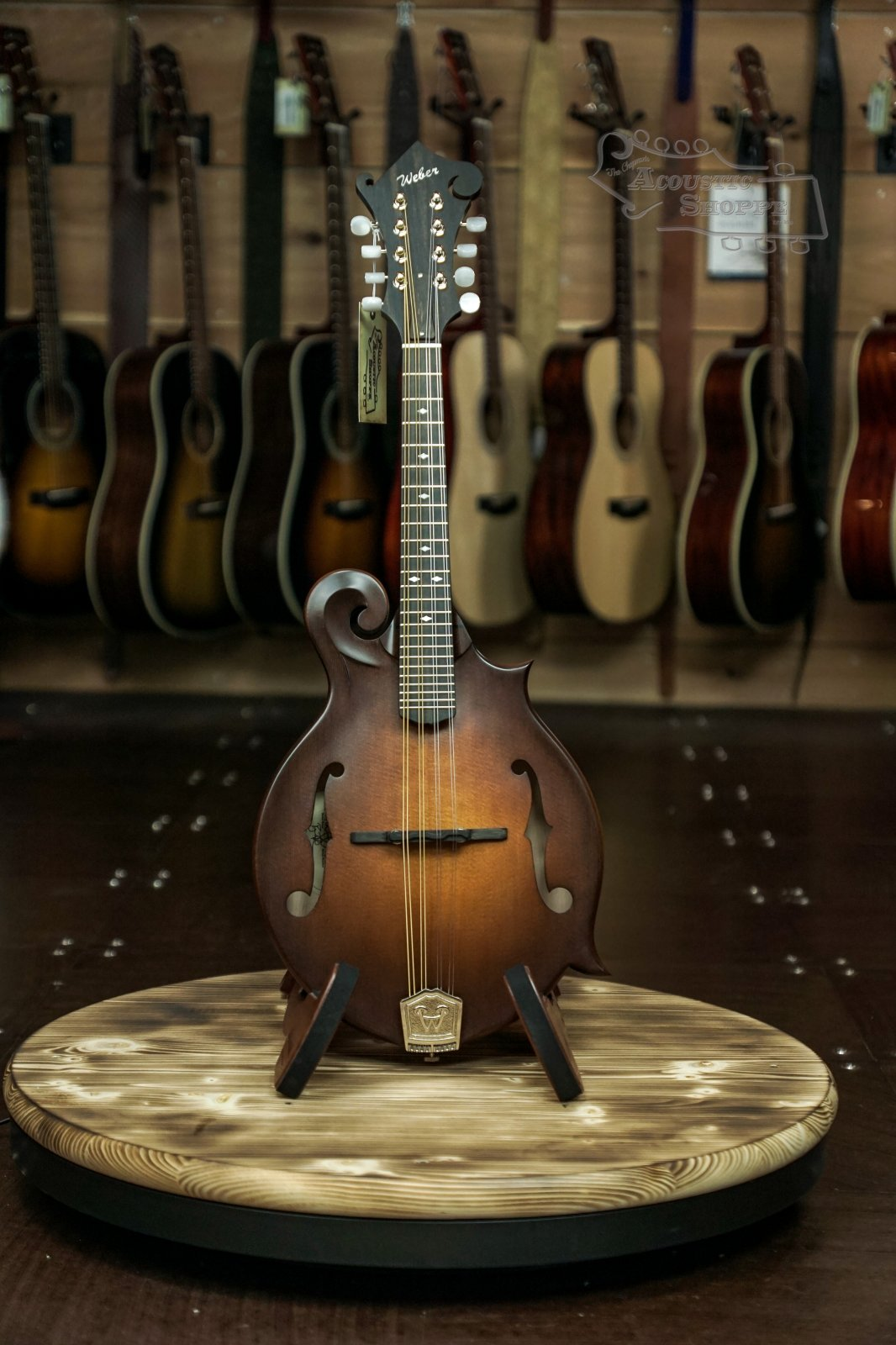 Weber Gallatin F14-F F-Style Mandolin #18537902