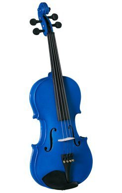 Anton Breton Student Violin Outfit - 4/4 Blue