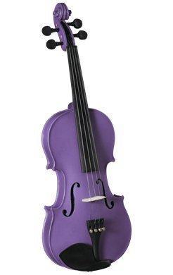 Anton Breton Student Violin Outfit - 4/4 Purple