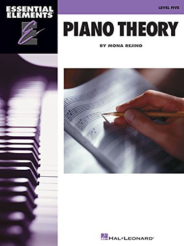 Essential Elements Piano Theory - Level 5
