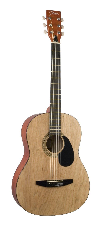 Johnson JG-100 Acoustic Guitar Matte Natural (4/4 size)
