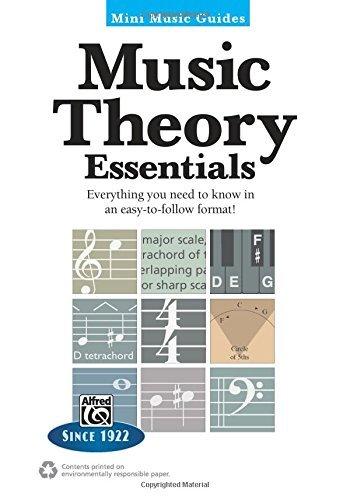 MUSIC THEORY ESSENTIALS - mini book 5X7
