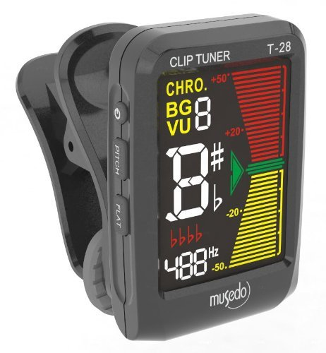 Musedo Clip-On Chromatic Tuner