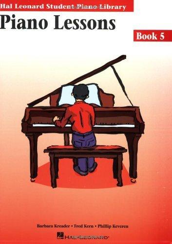 Piano Lessons Book 5
