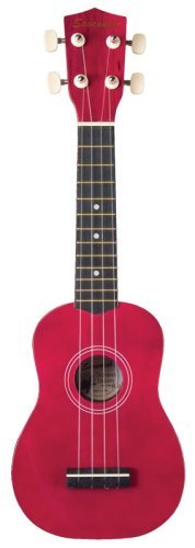 Savannah Red Ukulele with Bag