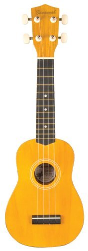 Savannah Yellow Ukulele with Bag