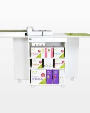 GO! Quilt Block Center Cutting Cabinet-White