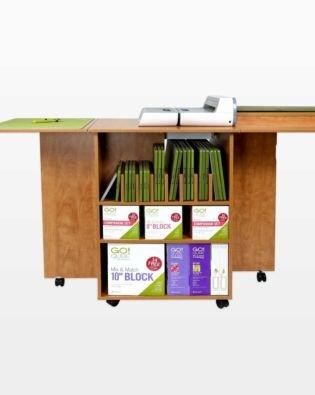 GO! Quilt Block Center Cutting Cabinet-Sunrise Maple