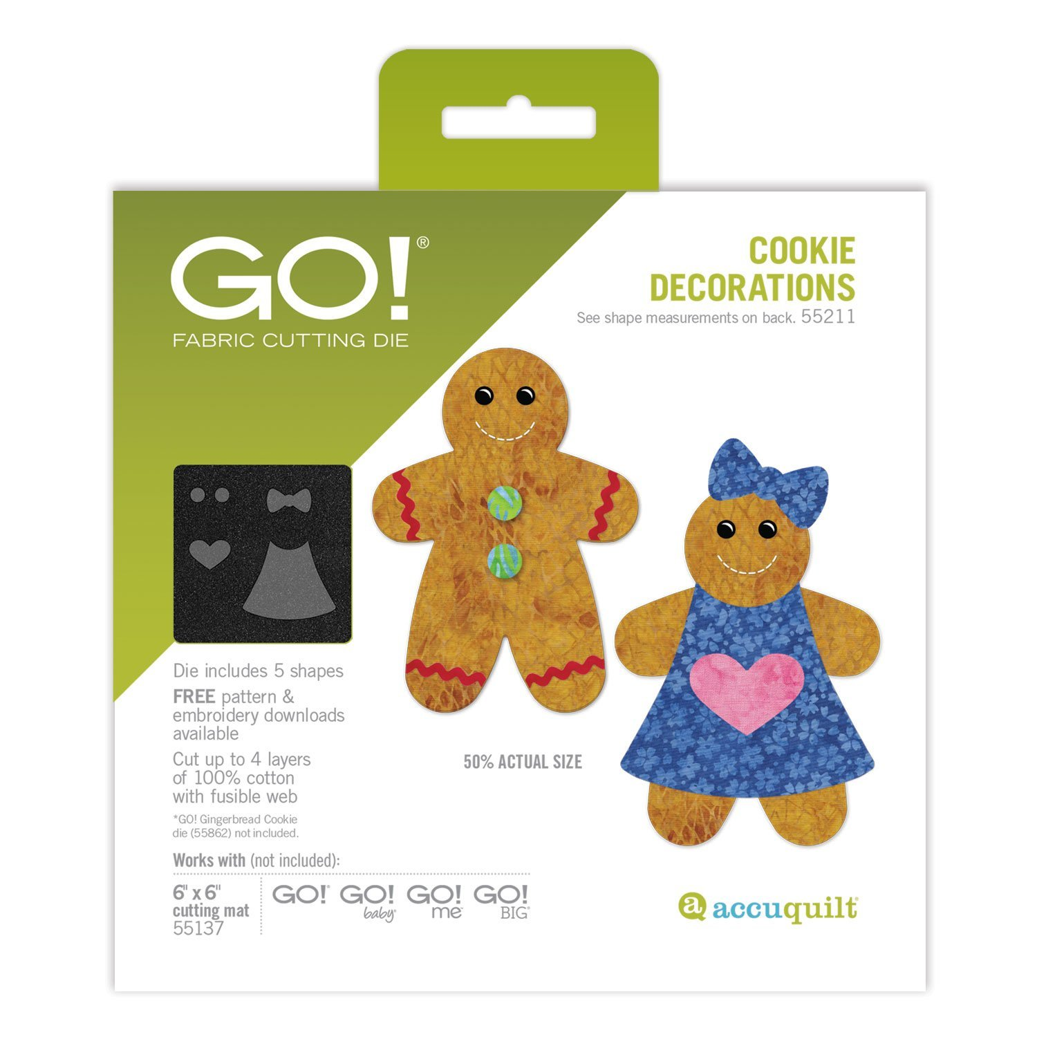 GO! Gingerbread Cookie Decorations