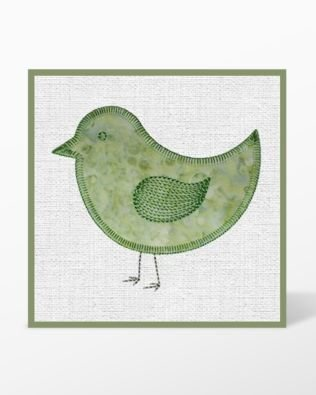 GO! Birds Embroidery Designs CD by Marjorie Busby