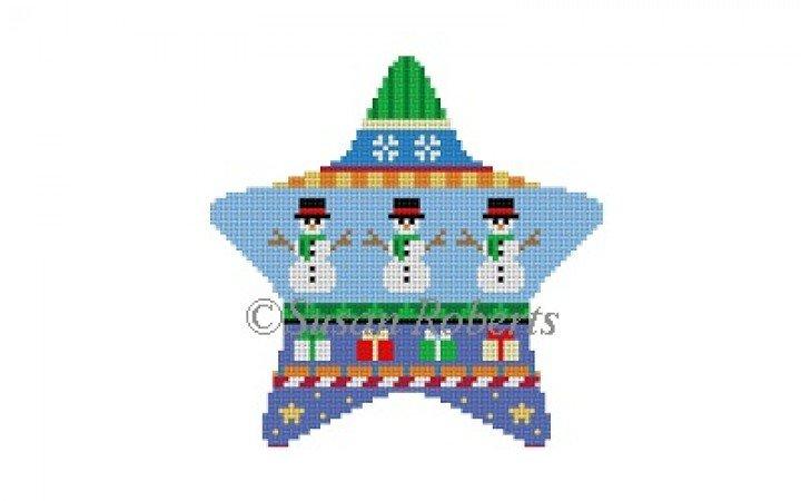 Star Stripe - snowmen