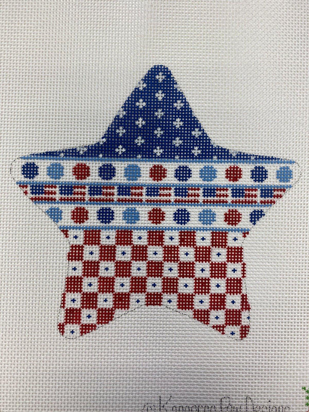 Patriotic Star - Multi Pattern