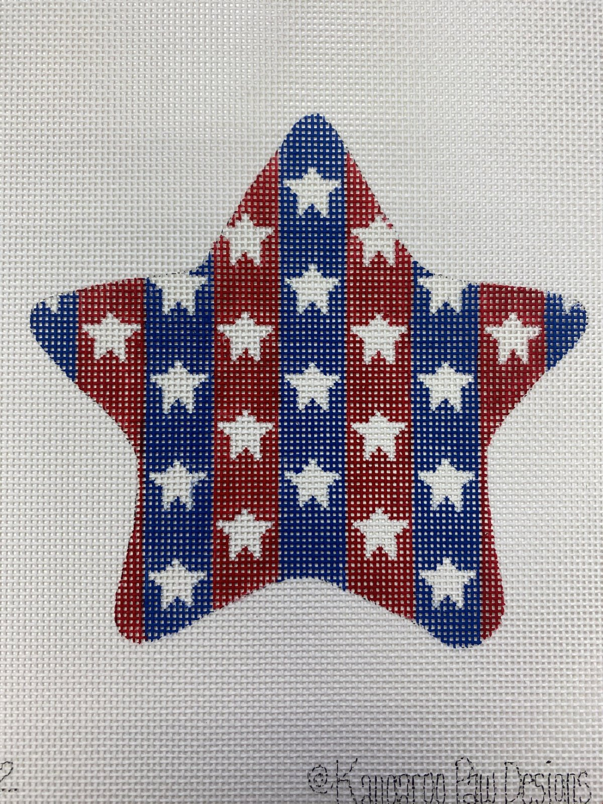 Patriotic Star - Stars and Stripes