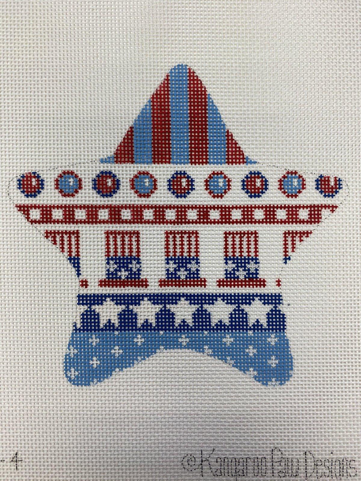 Patriotic Star - Uncle Sams Hat
