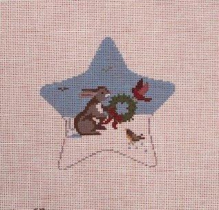 Star, Rabbit with Birds