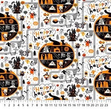 Ghoultide Greetings - Halloween Town - 10018-10