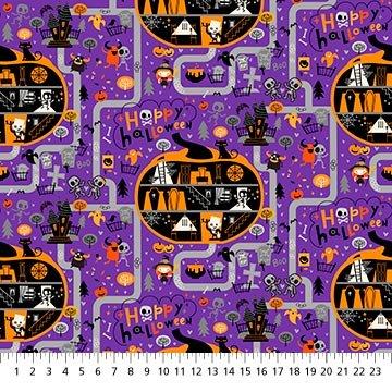 Ghoultide Greetings - Nightfall Halloween Town - 10018-84