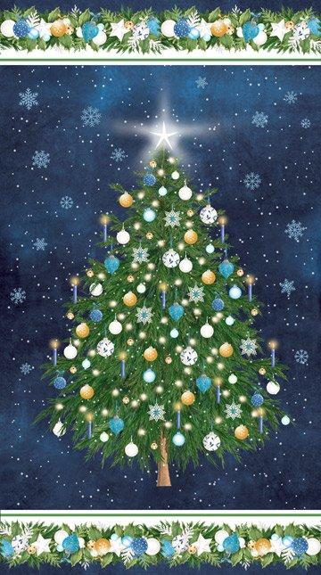 Oh Christmas Tree Panel