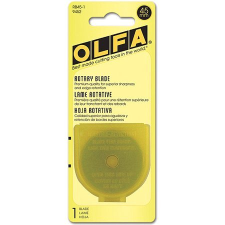 Olfa Rotary Cutter Blades-45 mm pack of 1