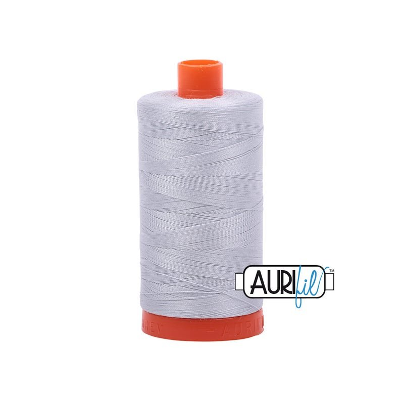 Aurifil Cotton Thread 1300 Meter Spool of 50WT Dove - 6MK50-2600