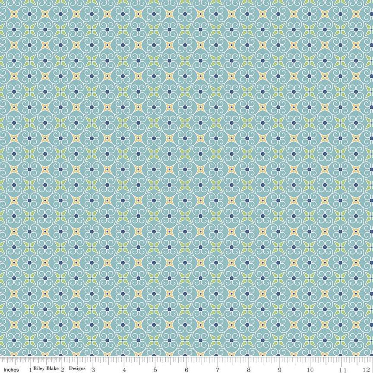 Cozy Christmas Wrapping paper - Blue