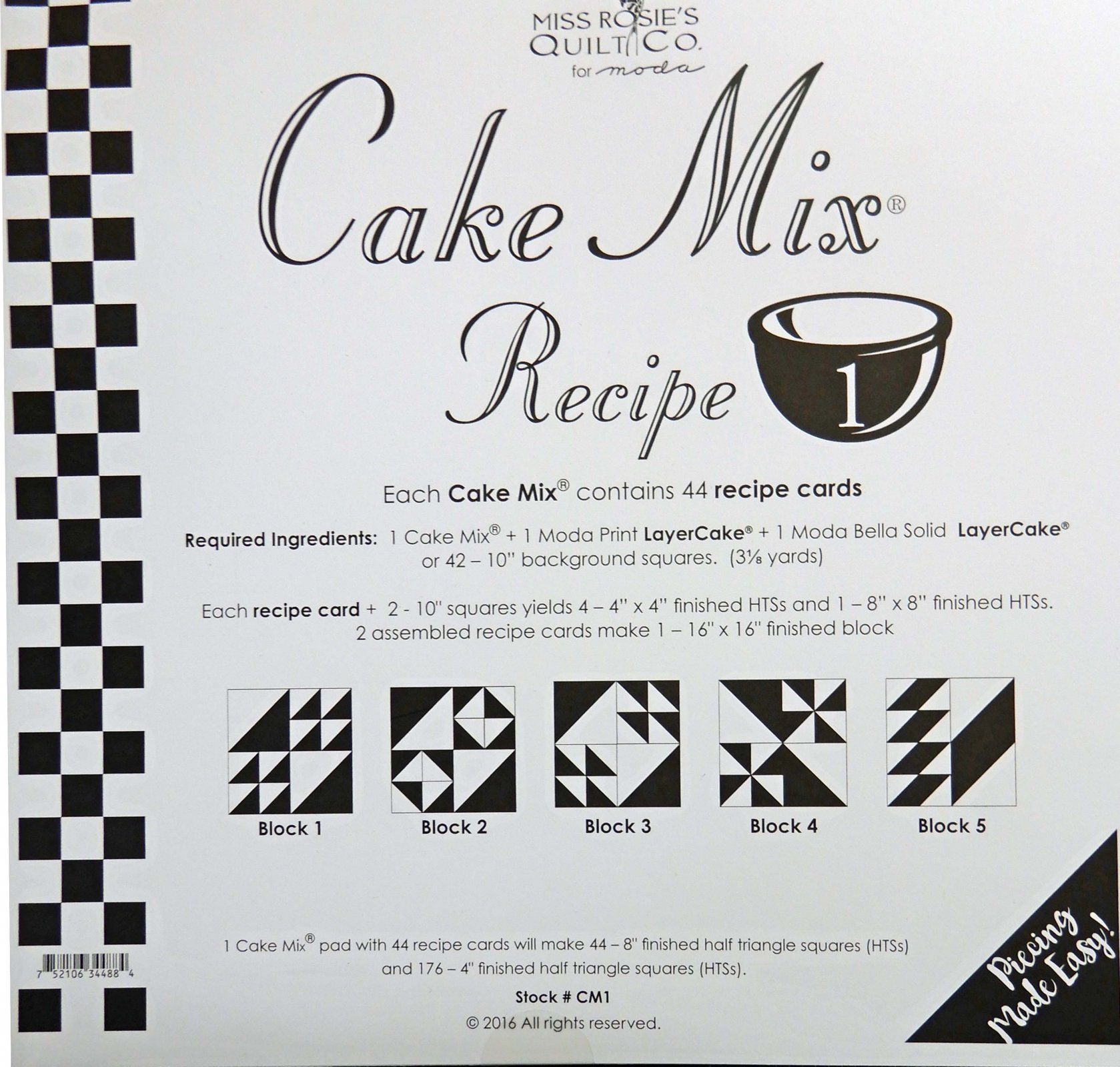 Cake Mix Recipe volume 1