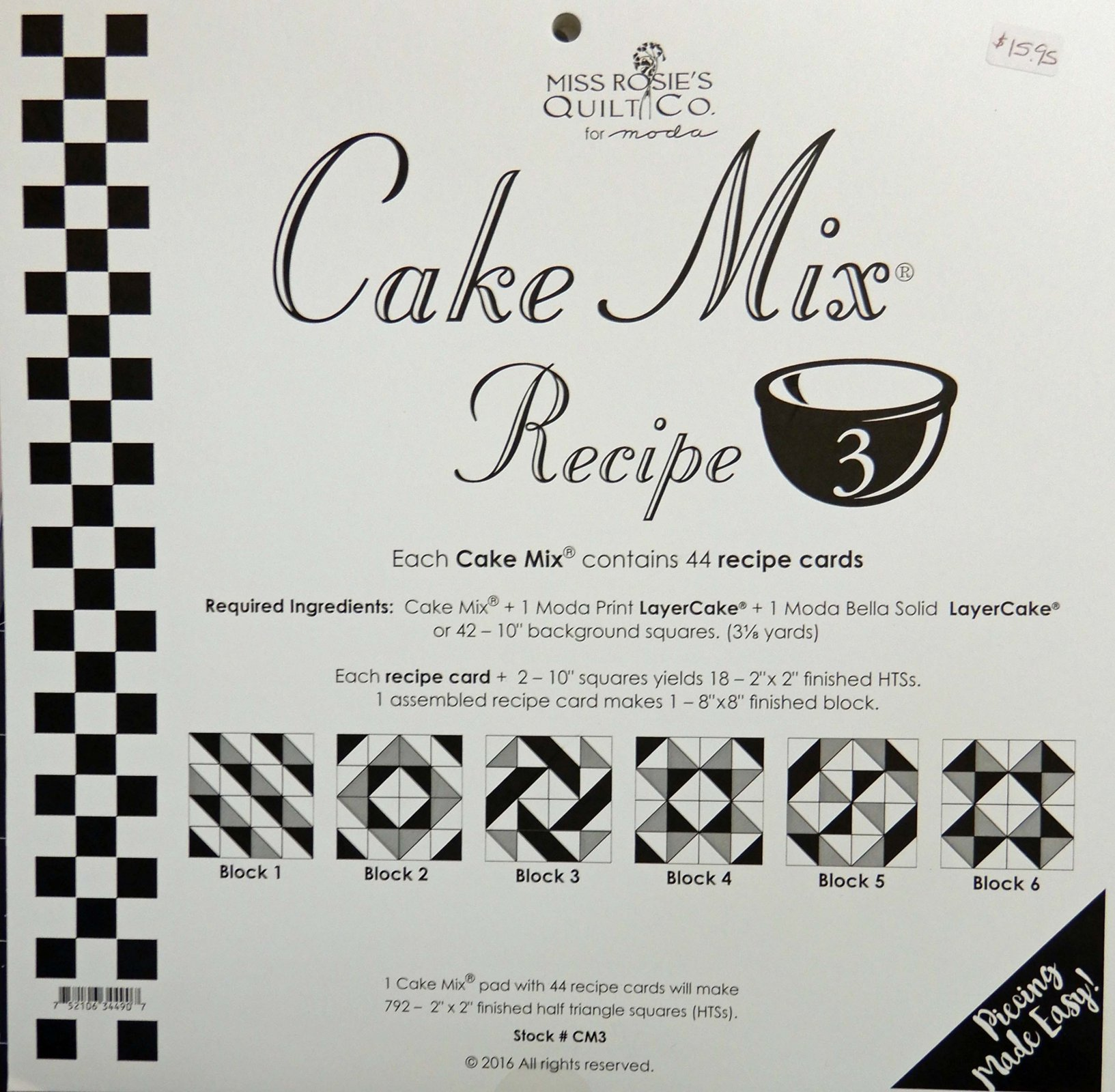Cake Mix Recipe volume 3