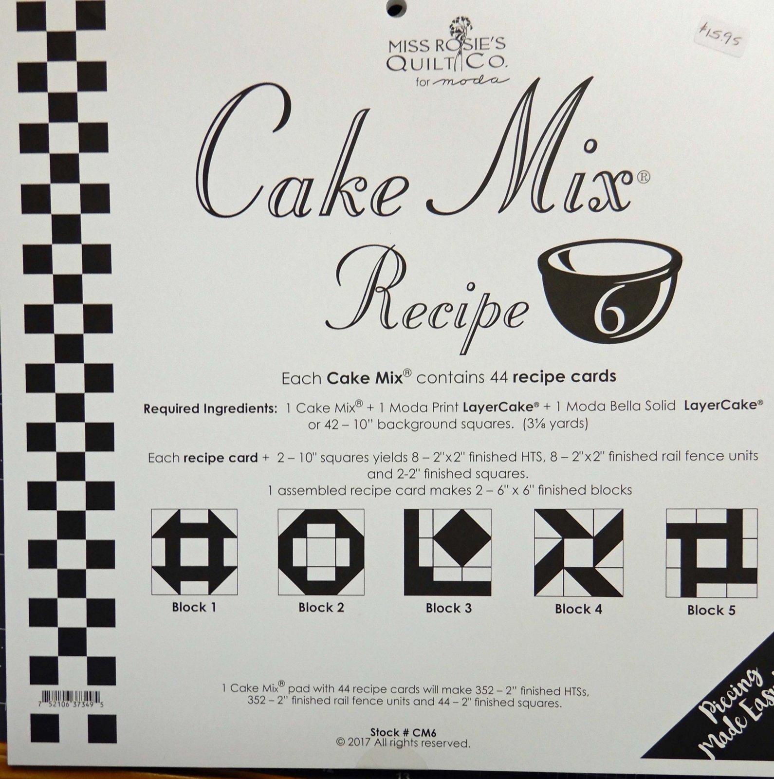 Cake Mix Recipe volume 6