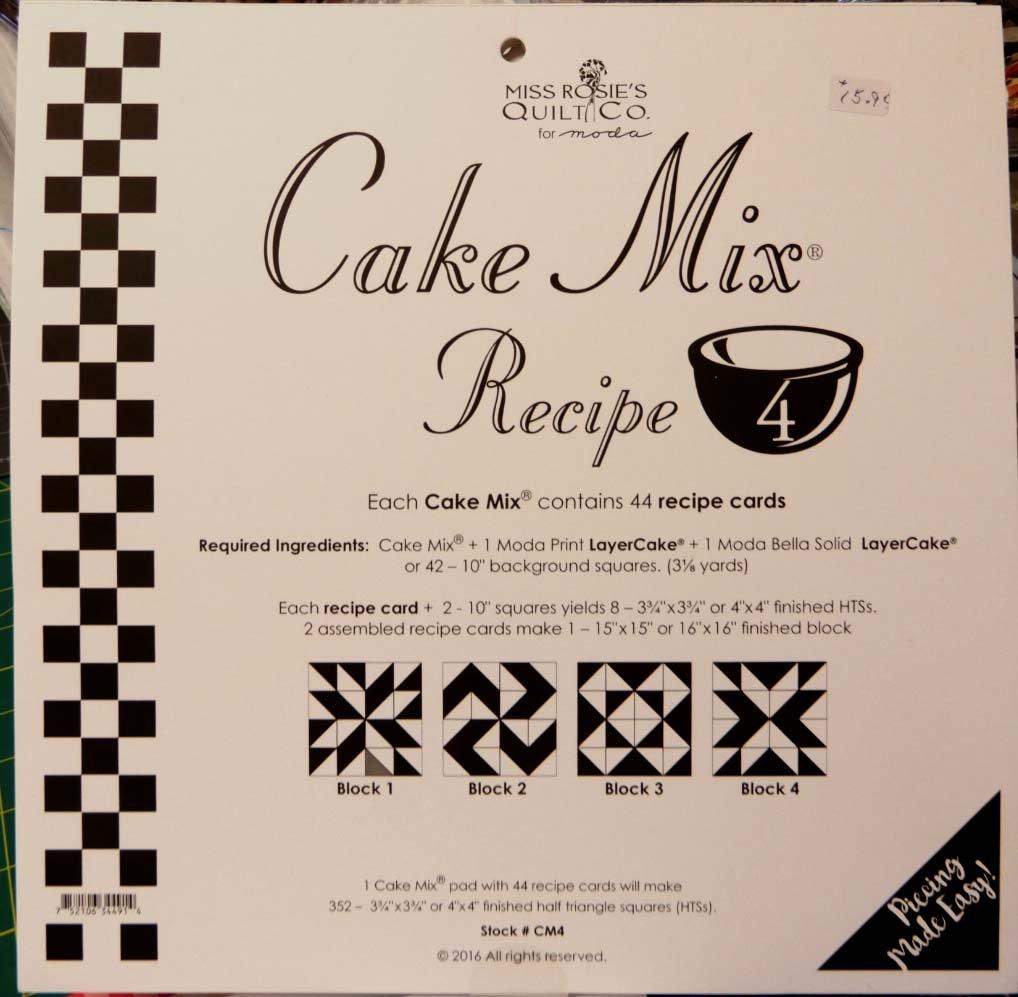 Cake Mix Recipe volume 4