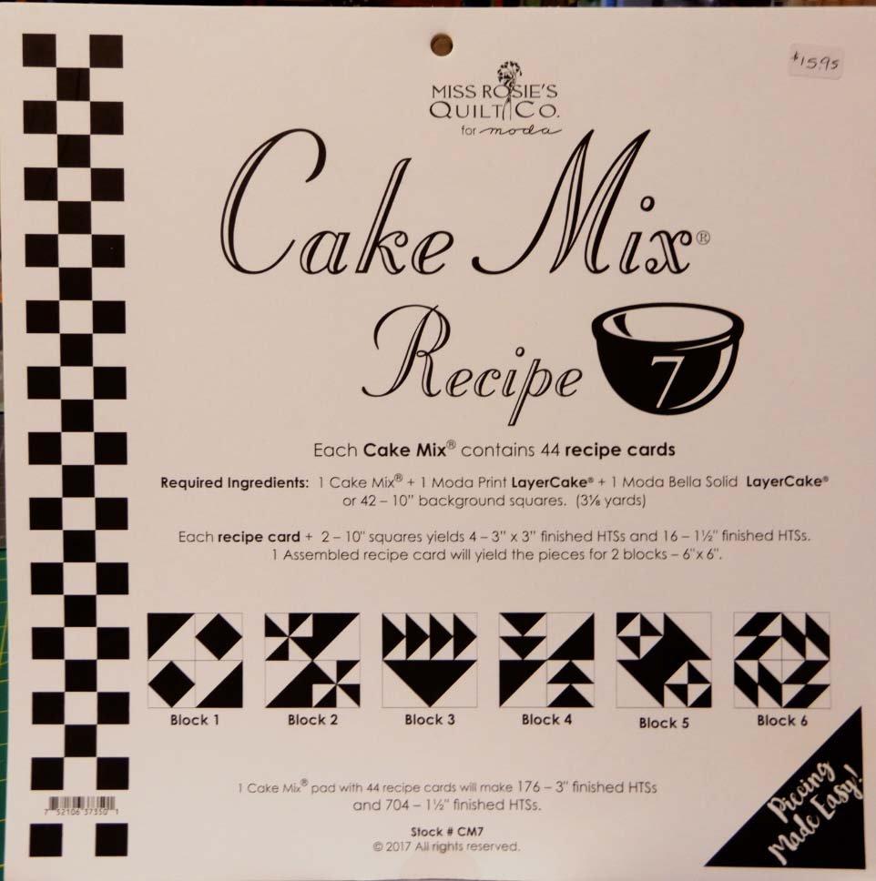 Cake Mix Recipe volume 7