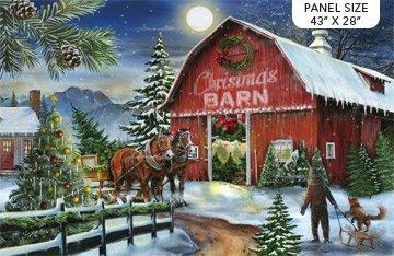 Christmas Barn Yard - DP23463