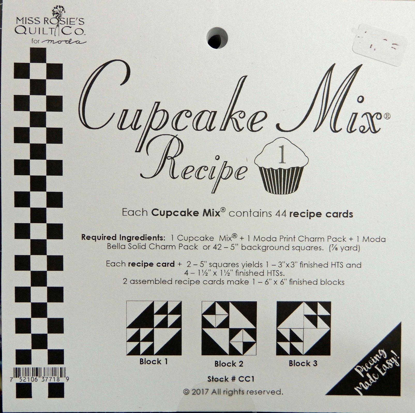 Cupcake Recipe volume 1