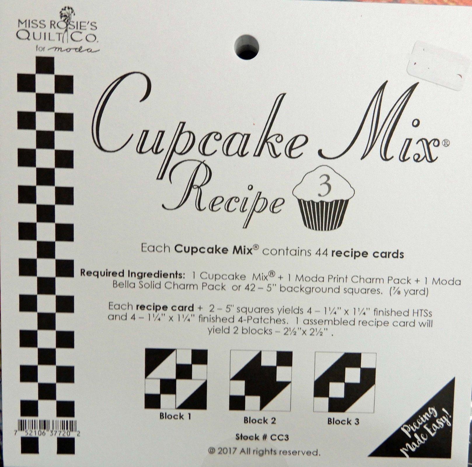 Cupcake Recipe volume 3