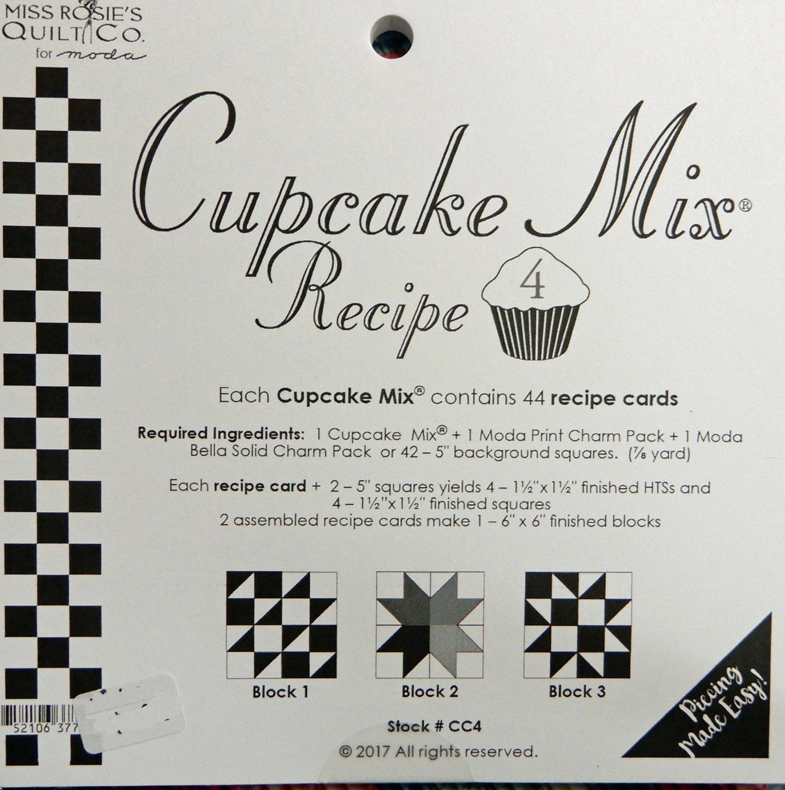 Cupcake Recipe volume 4